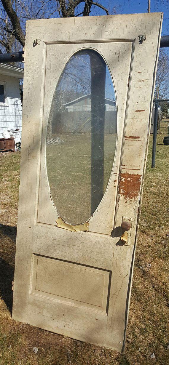 Oval Window Door 32 Wide By 80 Tall 400 Wood Exterior Door