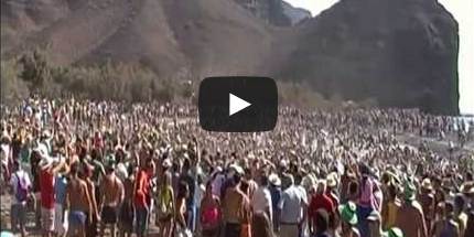 Vídeo: Fiesta del Charco 2014.