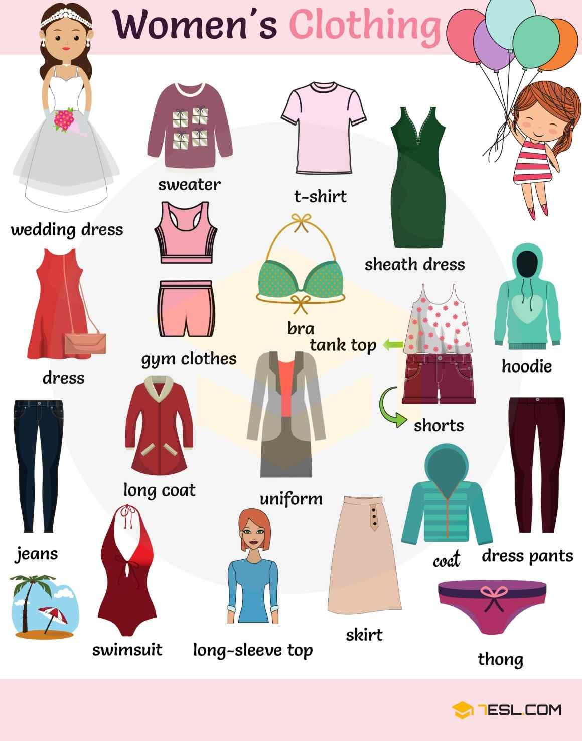 Vocabulary: Talking about CLOTHES in English · engVid