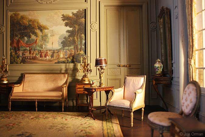 French Louix Xvi Drawing Room 1774 1793 Phoenix Art Museum
