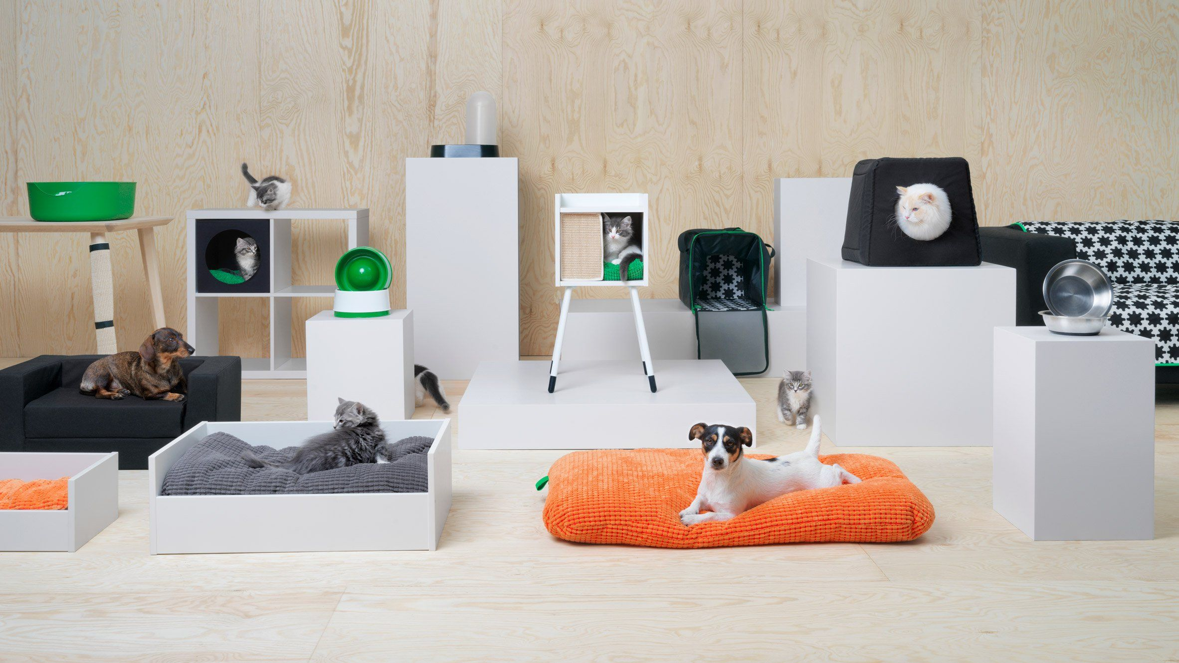 Ikea S First Furniture Collection Designed Specifically For Pets Includes A Treehouse Like Cat Hideaway An Pet Furniture Retail Furniture Furniture Collection