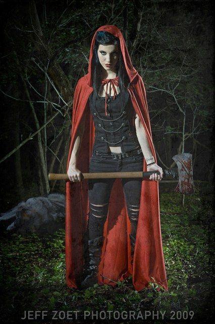 I Love Me A Badass Red Riding Hood Red Riding Hood Costume Diy