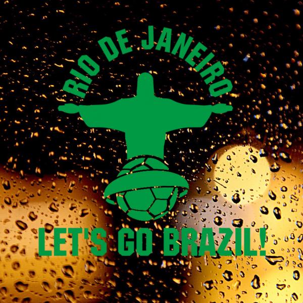 Look! My DIY : Let's go Brazil wall sticker , free shipping 2016 | diythinker.com