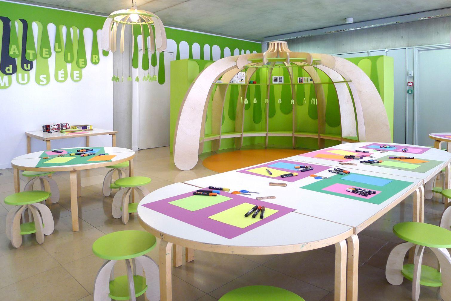Petite Pousse Children S Workshop Space Design Matali Crasset