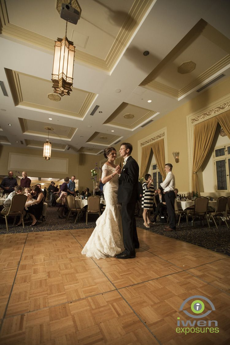 Wedding At The Paxton Ballroom In Downtown Omaha Nebraska Photo