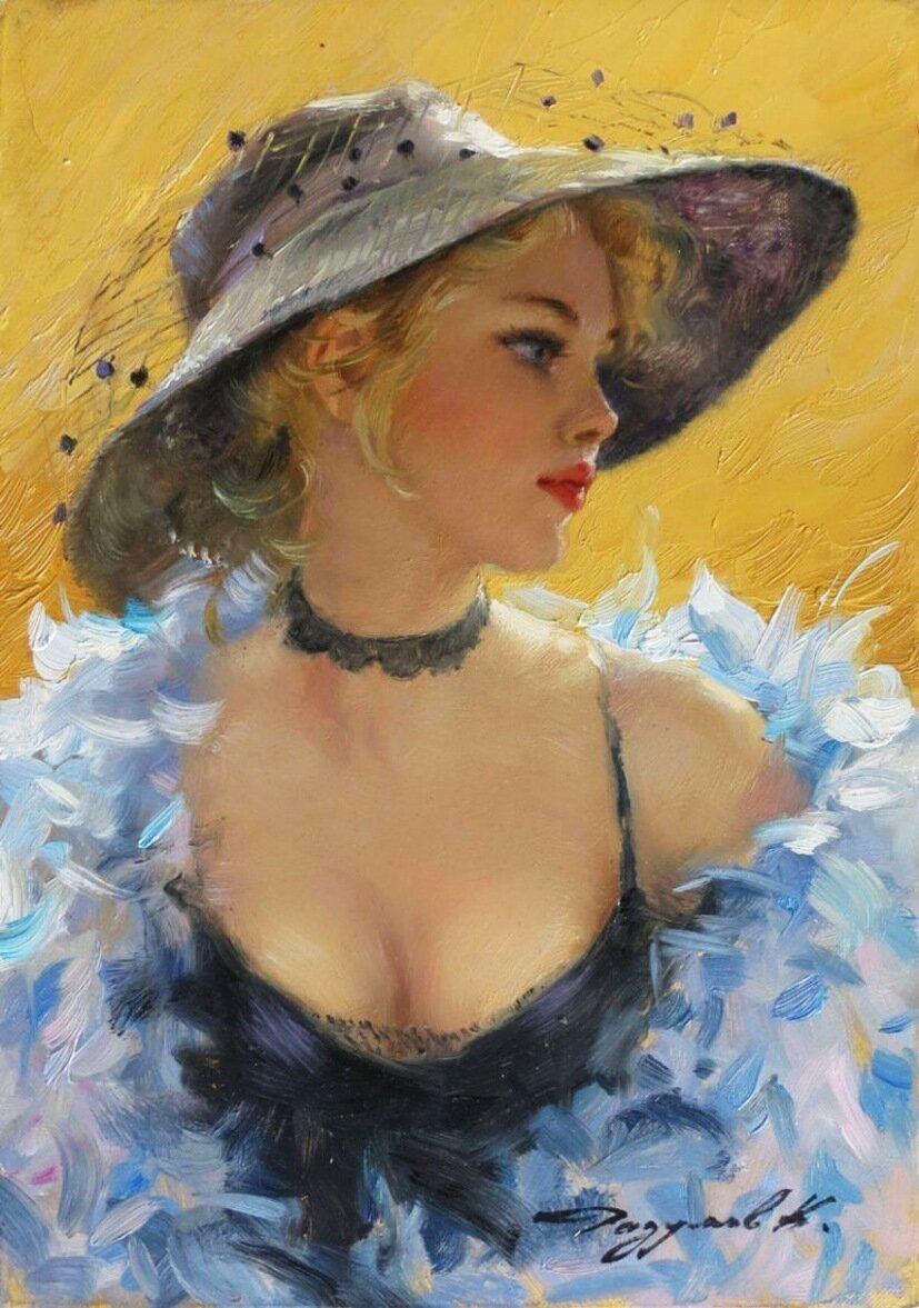 Доброе утро, красивая женщина»: Чувственные картины Алексея ... | 1177x827