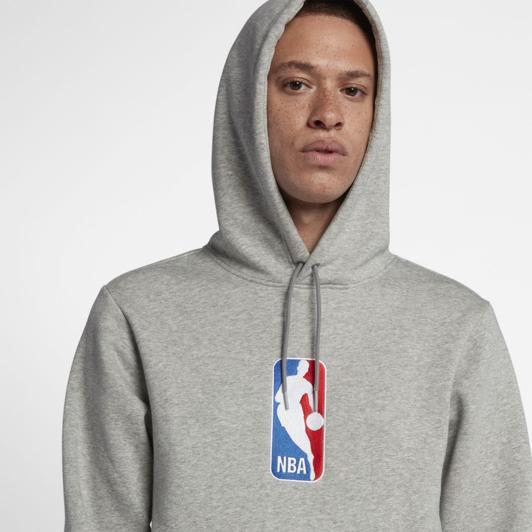 NIKE SB X NBA ICON HOODIE DARK GREY