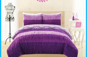 Purple Bedspreads And Comforters Look Cute Beautiful Bedspreads