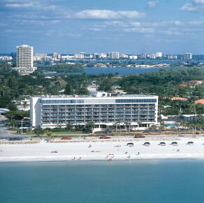 Lido Beach In Sarasota We Stayed This Hotel Holiday Inn