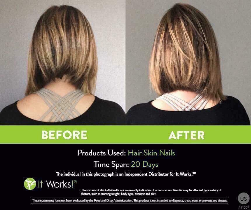 amberboone.itworks.com Hair Akin and Nail results | It Works | Pinterest
