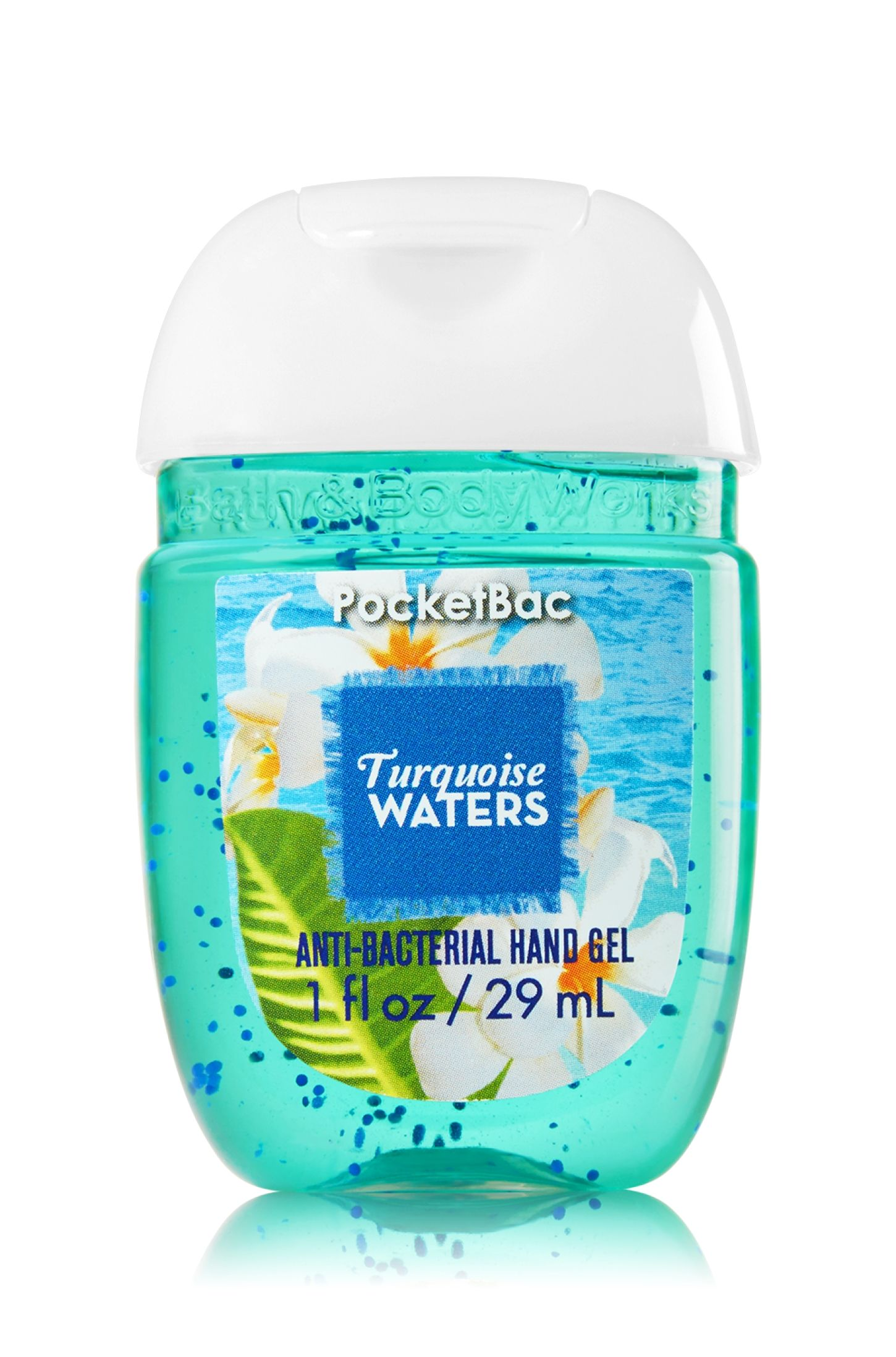 Turquoise Waters Pocketbac Sanitizing Hand Sanitizer Body