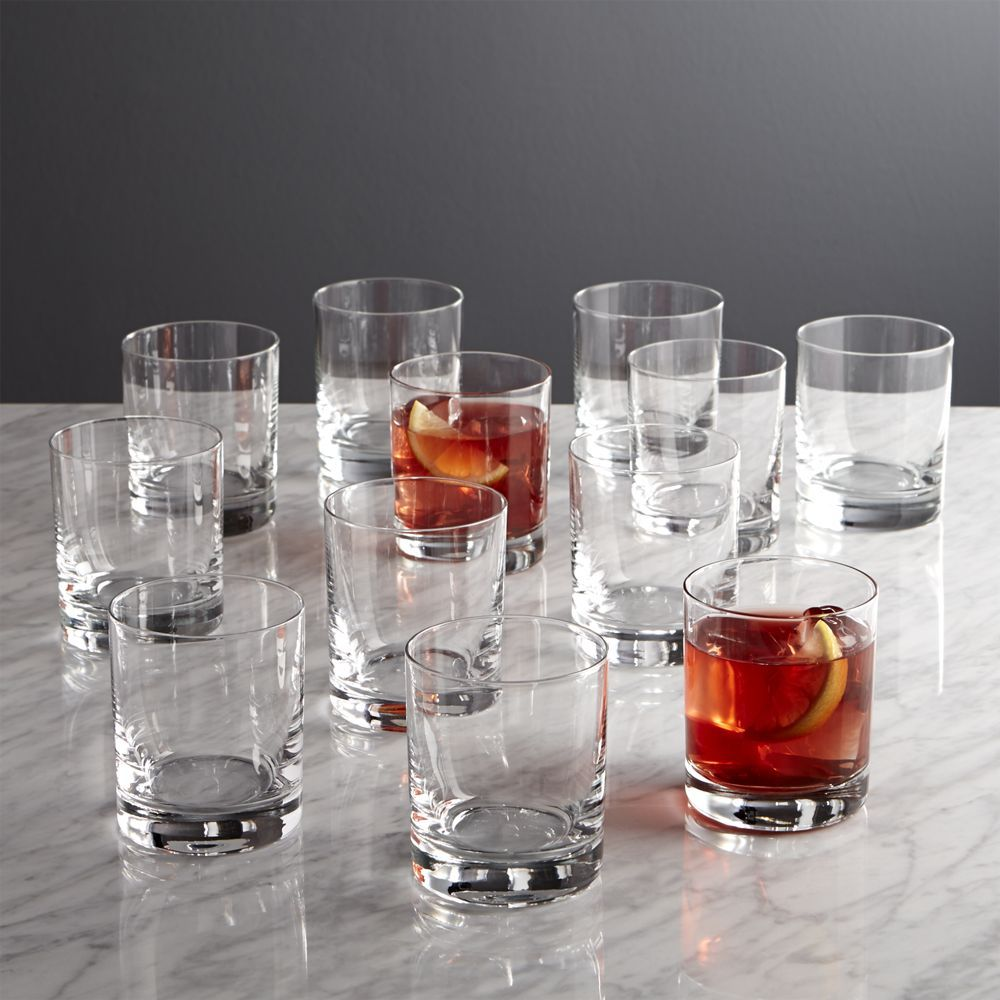 Peak Double Old Fashioned Glasses Set Of 12 Old Fashioned Glass Crate Barrel Crystal Wine Glasses