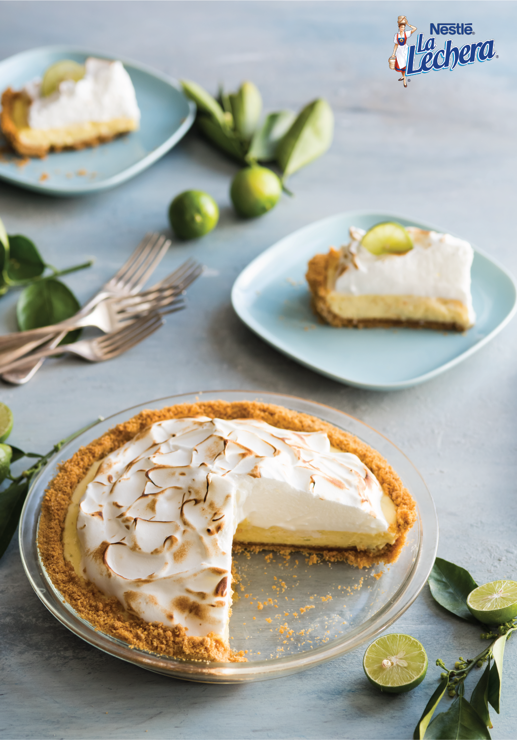 Photo of Key Lime Pie with Meringue Topping