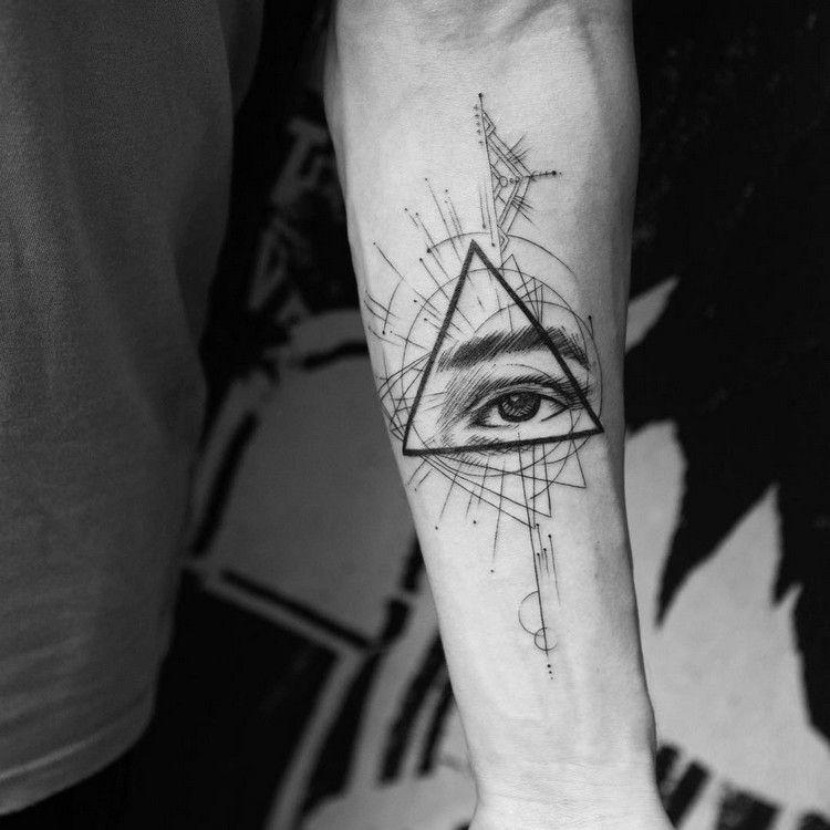 Tatouage Geometrique En 70 Exemples Pour Femmes Et Hommes Tattoo