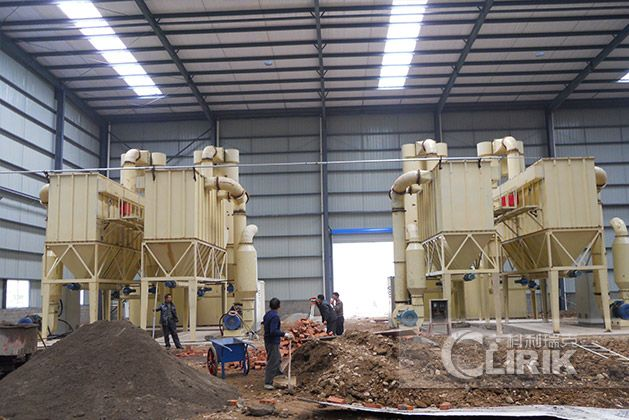 Limestone Powder Grinding mill Process in Russia