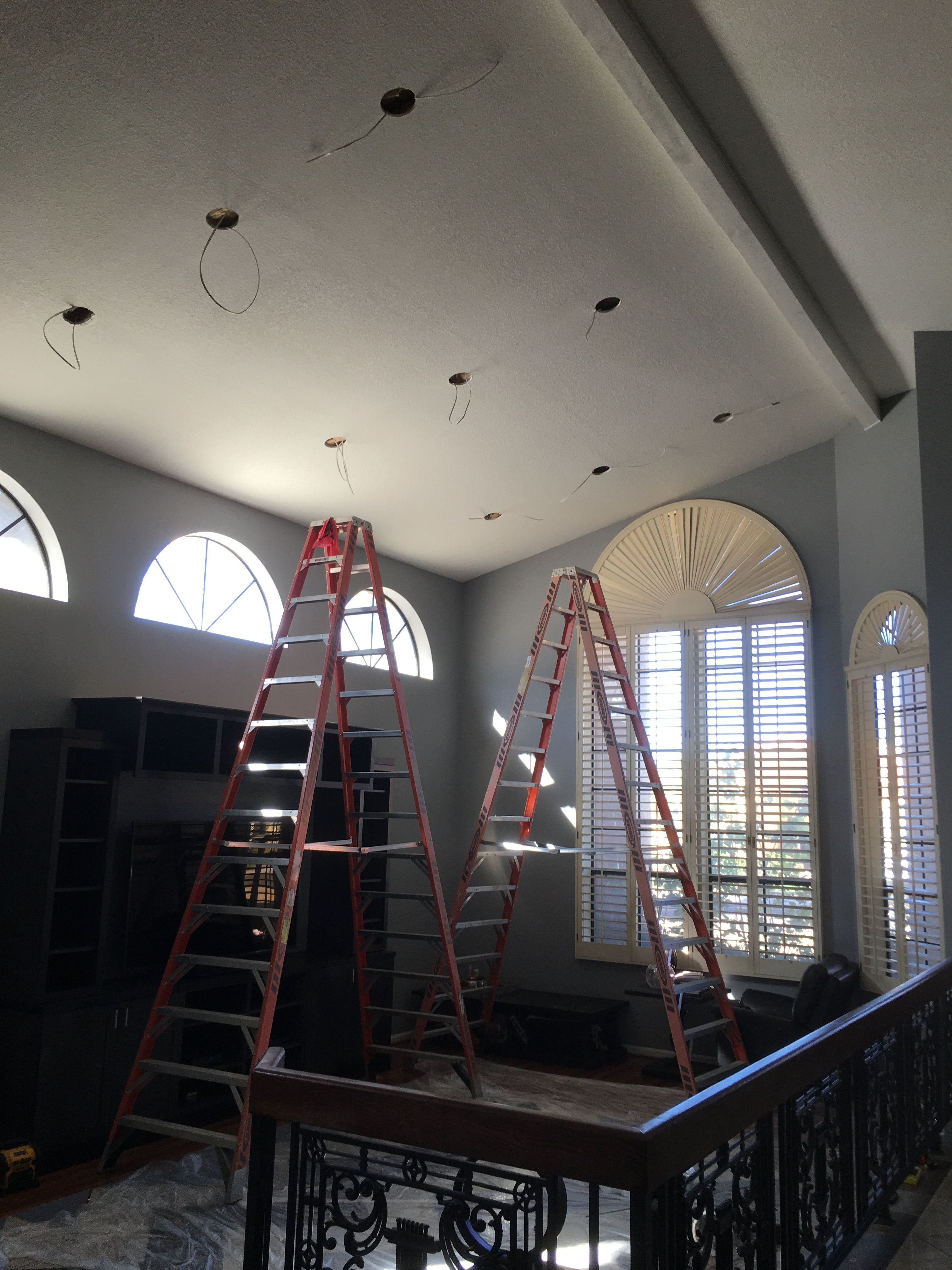 AZ Recessed Lighting Installation | Family Living Room Kitchen ...