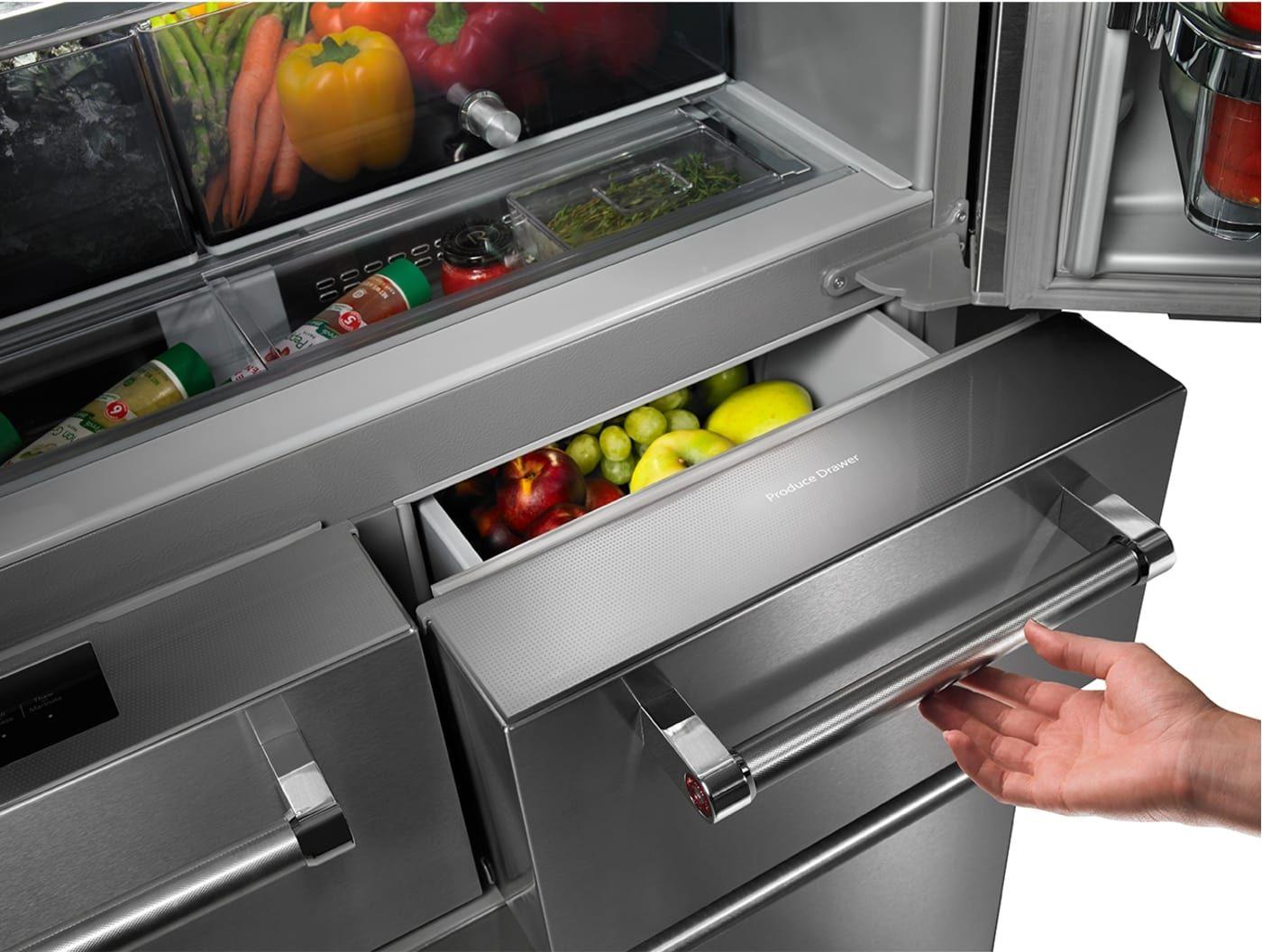 Kitchenaidkrmf706ess french door refrigerator kitchen
