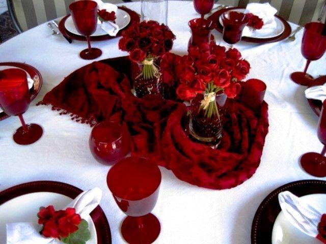 Romantic Valentineu0027s Day Table Settings   Love banquet   Pinterest   Table settings Table setting pictures and Romantic & Romantic Valentineu0027s Day Table Settings   Love banquet   Pinterest ...