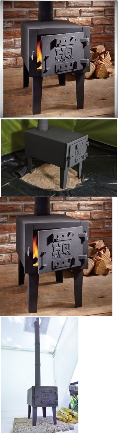 C&ing Stoves 181386 Portable Outdoor C&ing Steel Wood Stove Tent Heater For Fishing C& Cooking & Camping Stoves 181386: Portable Outdoor Camping Steel Wood Stove ...
