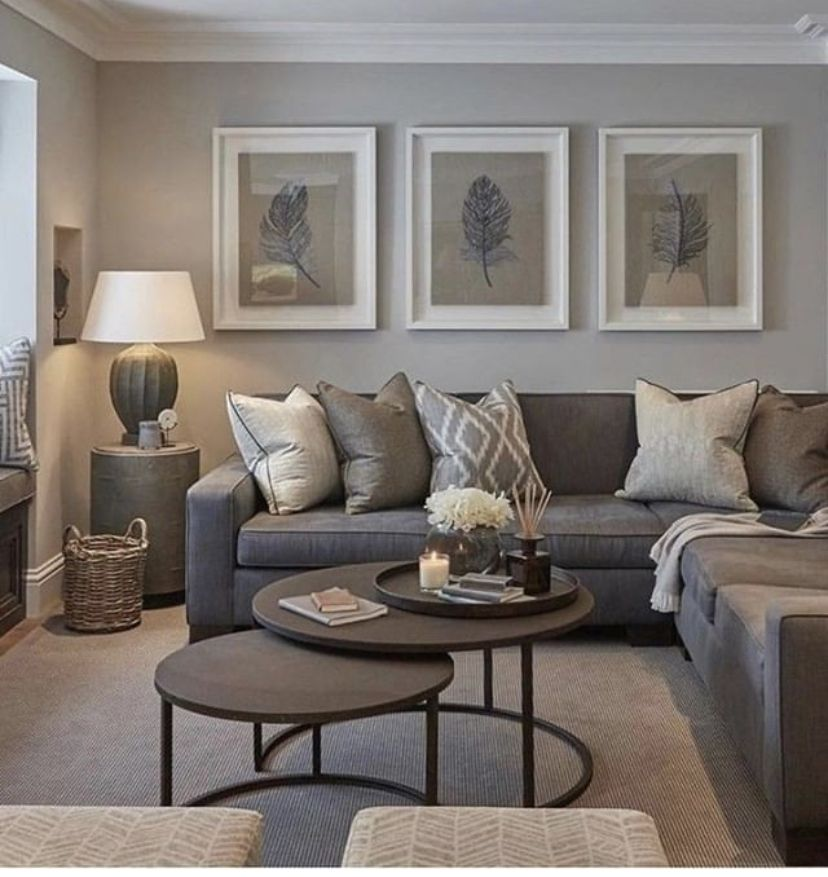 Pin By Laura On Home In 2020 Living Room Decor Gray Grey Walls Living Room Living Room Color Schemes