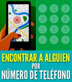 Encontrar a alguien usando su número de teléfono (método