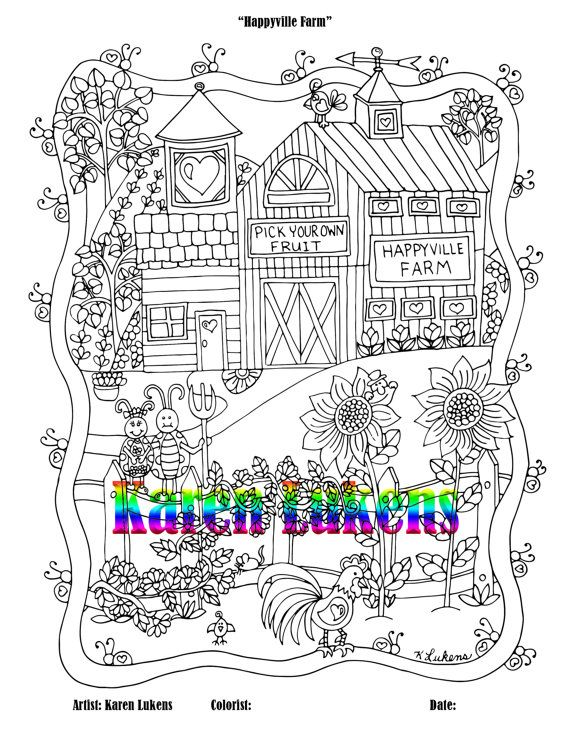 Check out this item in my Etsy shop https://www.etsy.com/listing/479385327/happyville-farm-1-adult-coloring-book