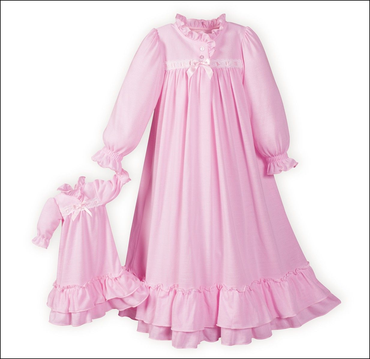 Clara s nightgown pink nutcracker clara nightgown made in usa