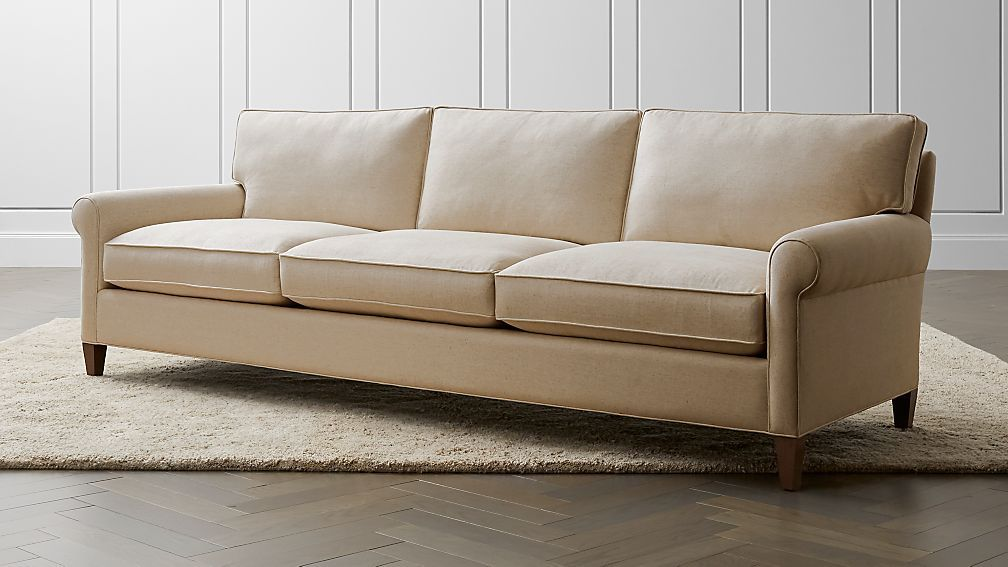 Montclair 103 Grande Roll Arm Sofa Sofa Rolled Arm Sofa
