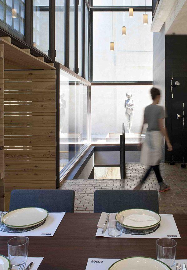 Espacio verde en el centro de madrid el restaurante bosco for Restaurante escuela de arquitectos madrid
