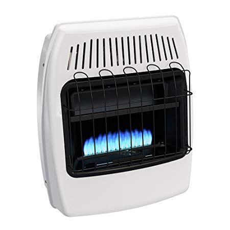Dyna Glo Bf20pmdg 20 000 Btu Liquid Propane Blue Flame Vent Free Wall Heater Natural Gas Wall Heater Garage Heater Blue Flames