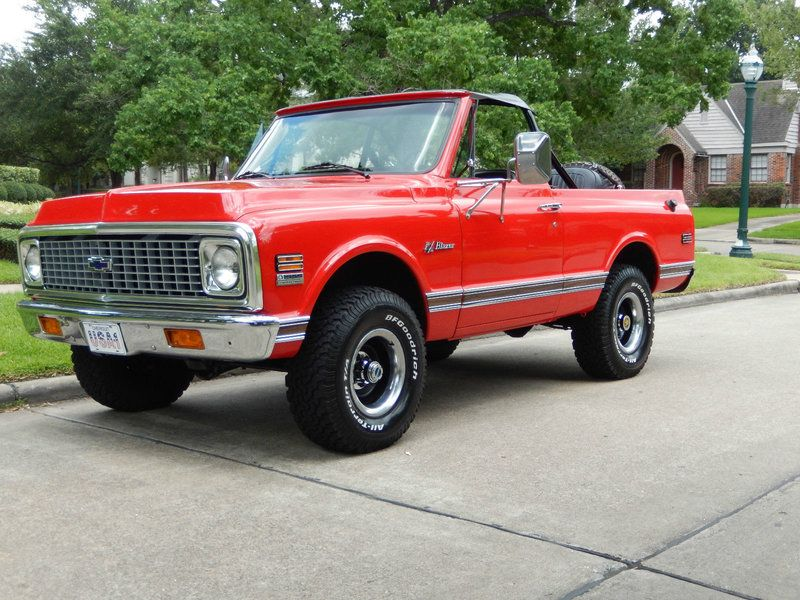 1972 Chevrolet Blazer K5 For Sale By Owner Austin Tx