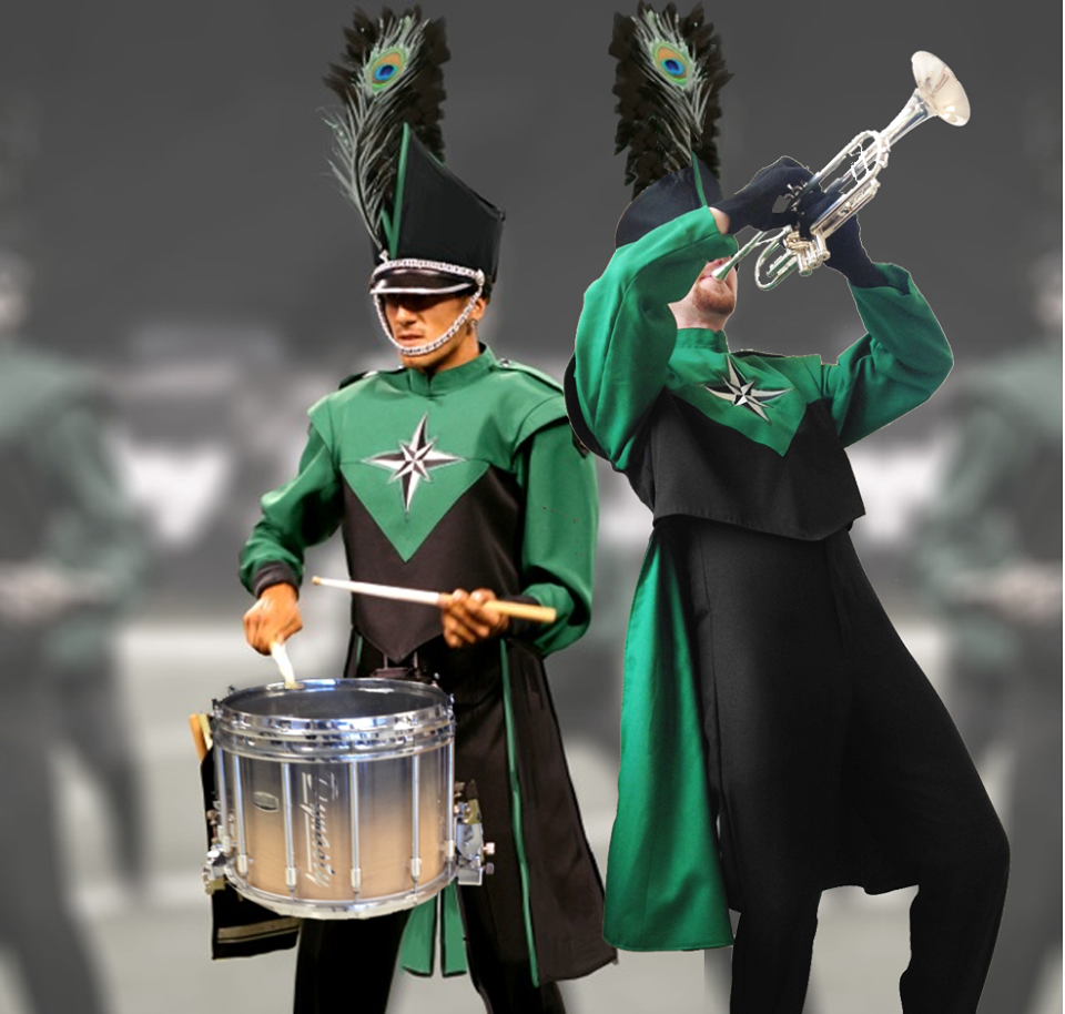Oregon Crusaders New Uniforms Oc14 Nevermore Crusades Drum Corps International Jazz Band