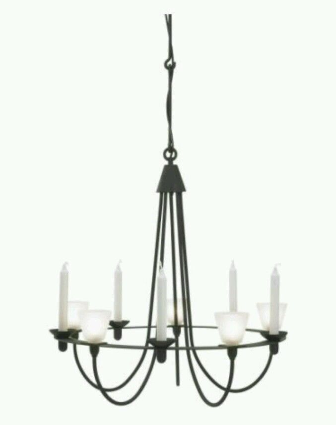 Ikea Lerdal Chandelier Very Rare Sold Out New In Box Gothic Black Light Fitting Home