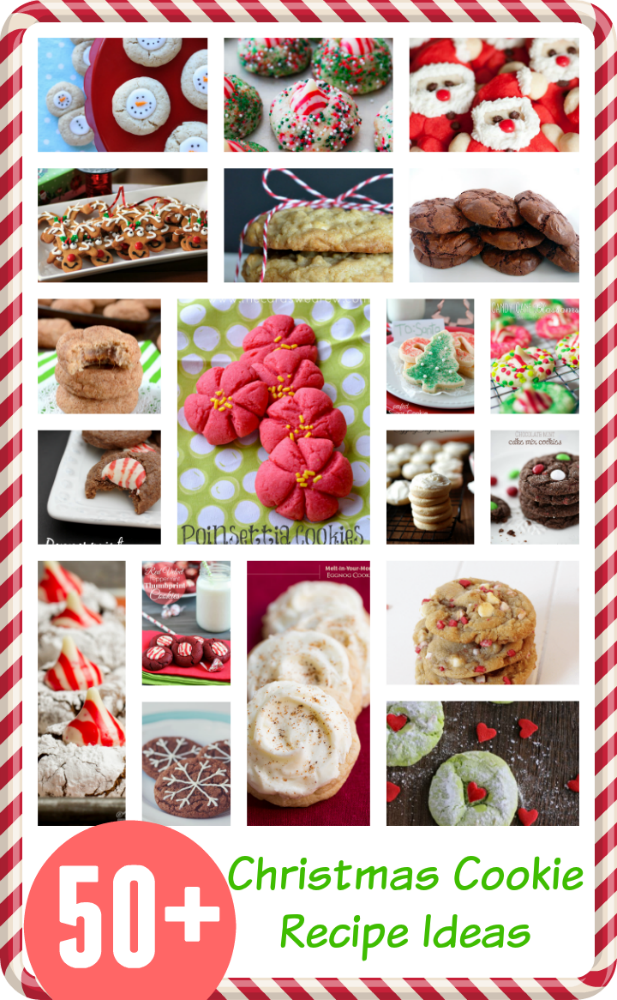 50 Christmas Cookie Recipes Cookies Recipes Christmas Christmas Cookies Xmas Cookies
