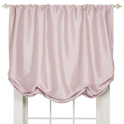 Simply Shabby Chic Faux Silk Balloon Shade Pink 60x63