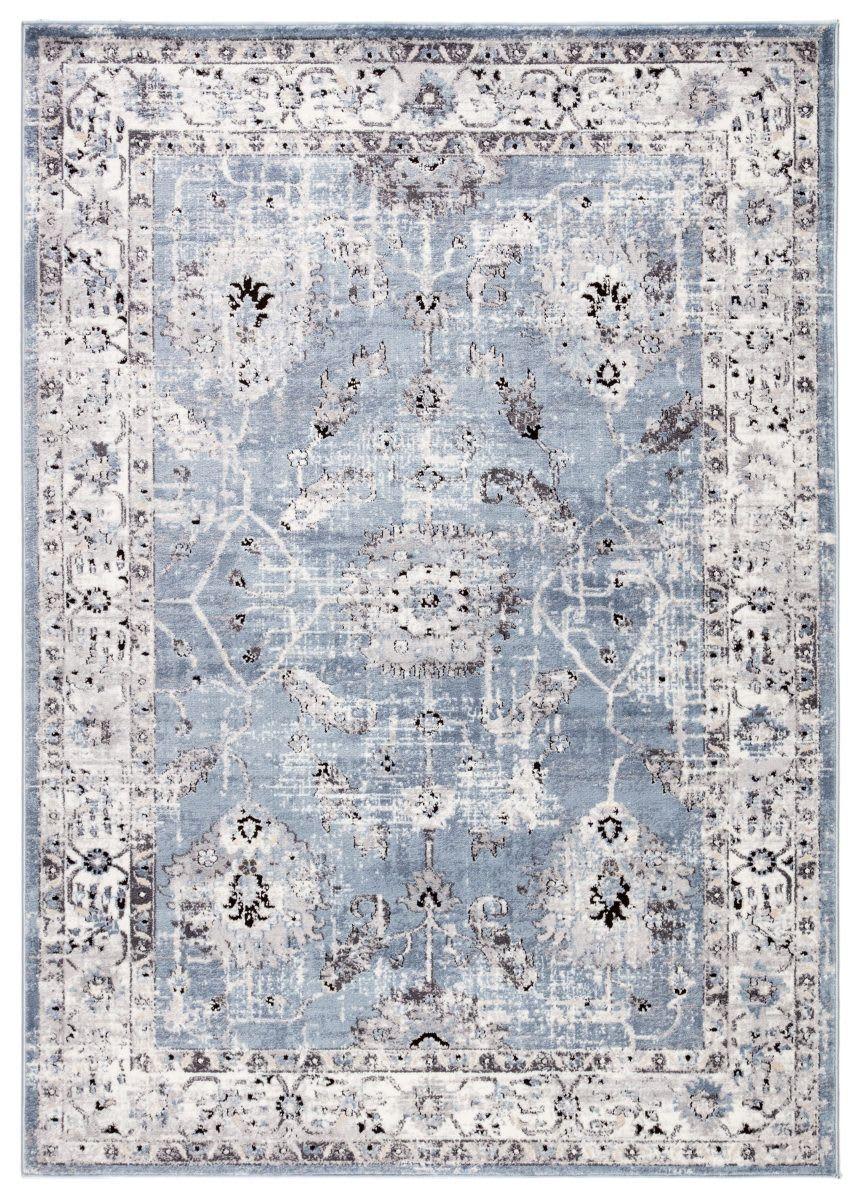 Jaipur Living Solstice Nashira Sol01 Blue White Area Rug Rugs