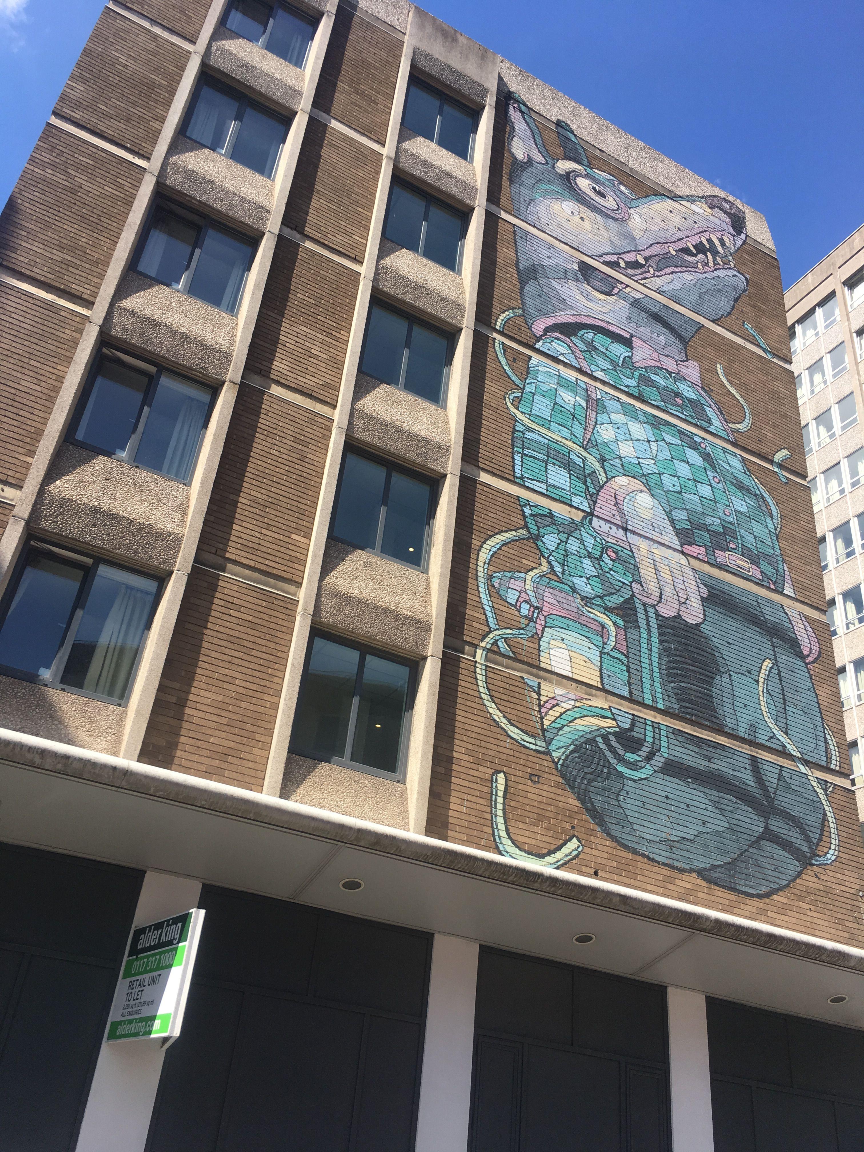 Bristol street art . .