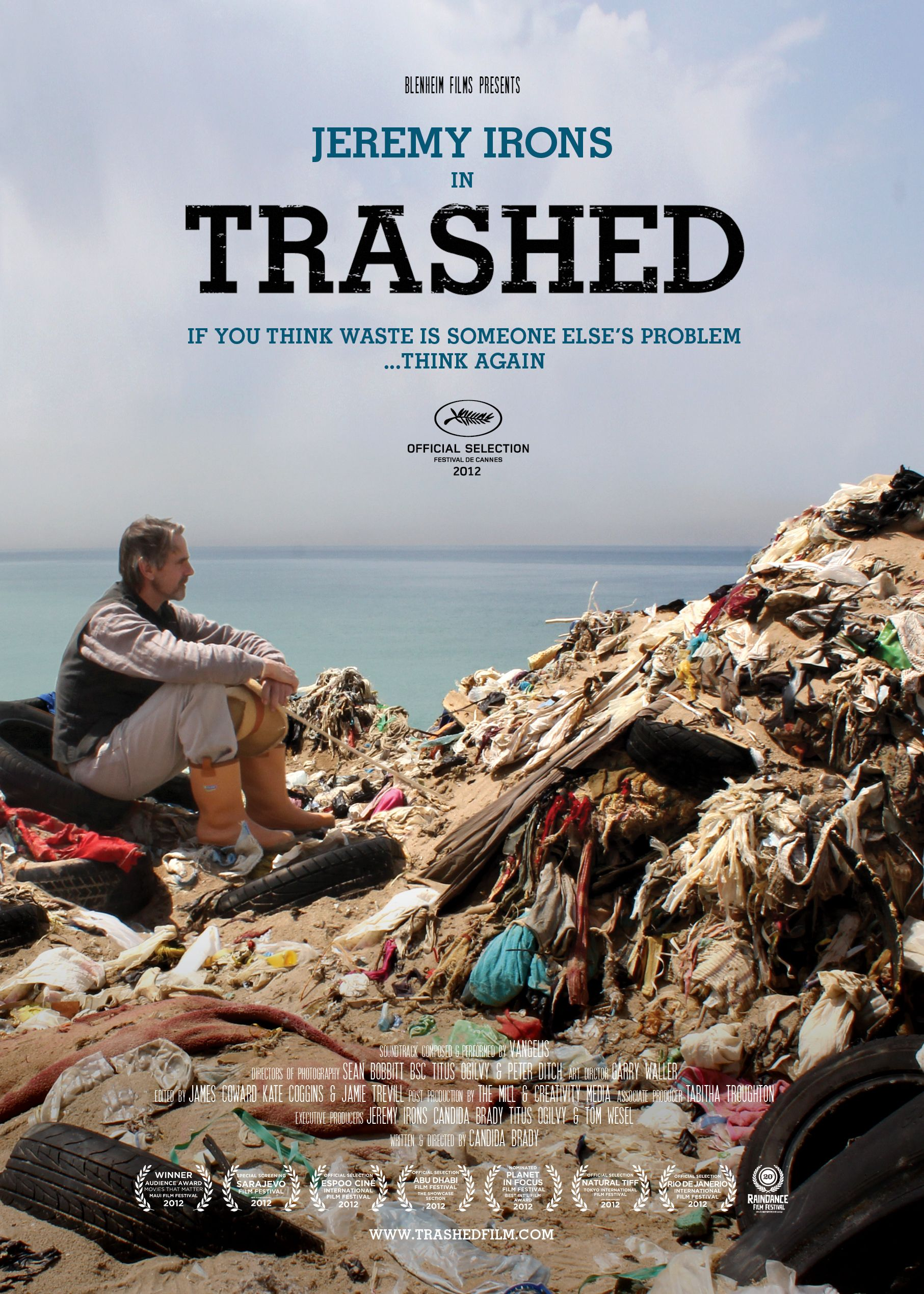 TRASHED award winning documentary feature film Feature