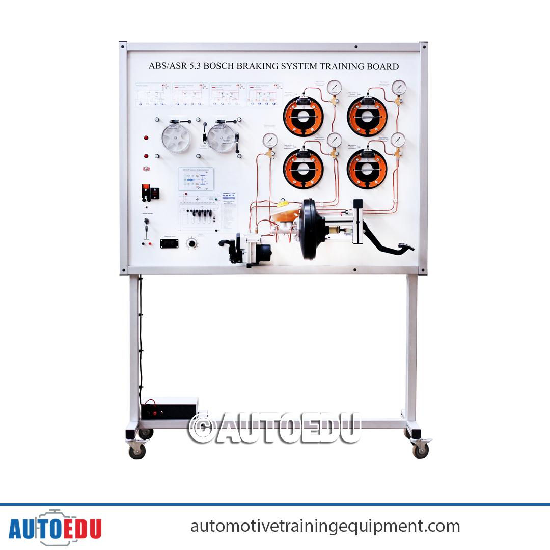 Abs Asr 5 3 Bosch Braking System Training Board Simulator Training Equipment Train Education