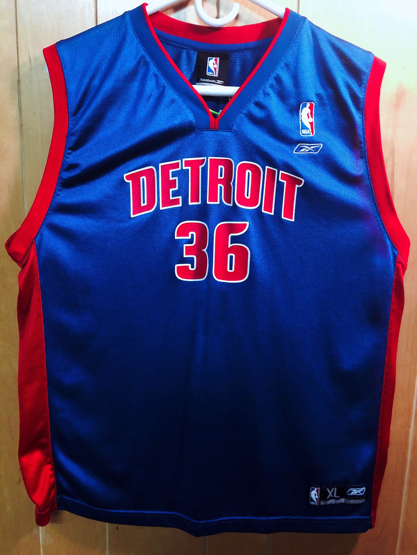 Detroit Pistons Rasheed Wallace Reebok Jersey Boys Size Xl Detroit Pistons Jersey Boys Detroit