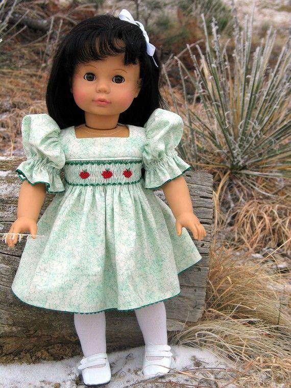 Geräucherter herunterladbare Stella Doll Kleid Muster für 18 | Doll ...
