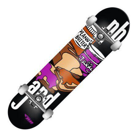 RD Street Series Skateboard, PBJ, Multicolor