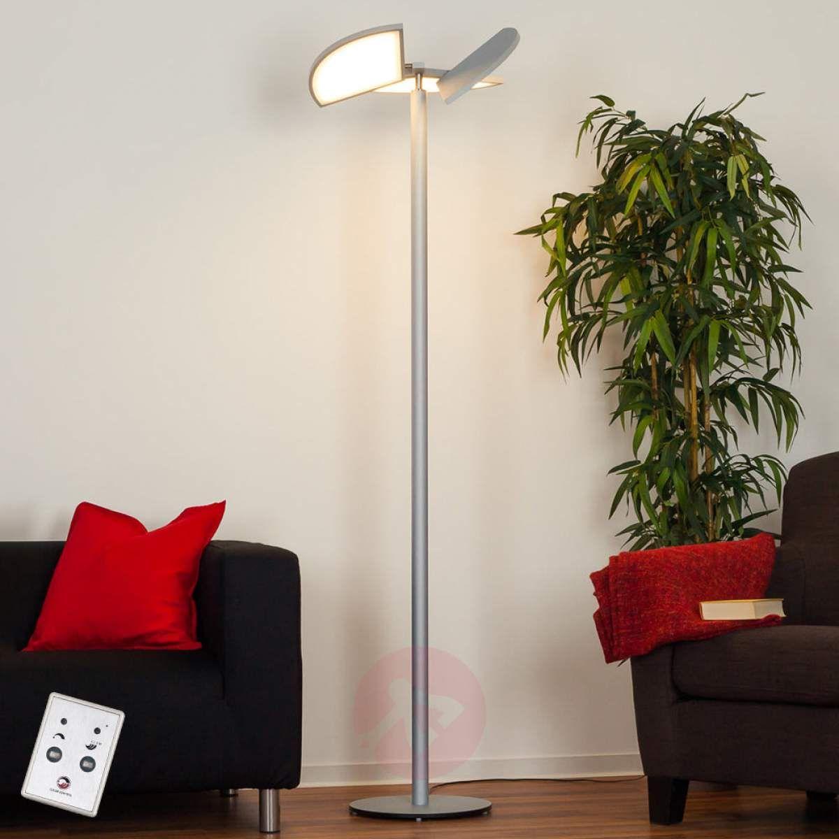 Aurela Lampa Stojąca Led Z Obracanymi Elementami Lampy