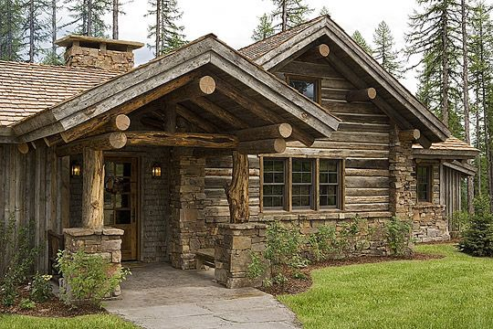 Walt Landi Signature Homes Log Cabin Homes House In The Woods Log Homes
