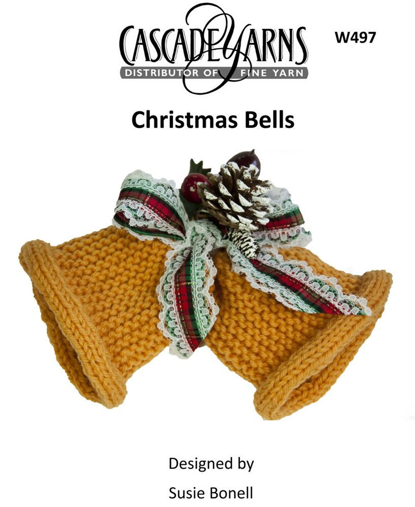 Christmas Bells in Cascade 220 - W497 | Knitting Patterns ...