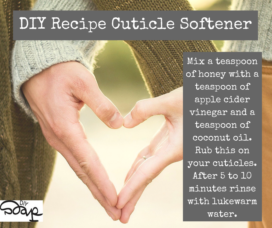 DIY Recipe Cuticle Softener   H&B   Pinterest   Diy recipe, Makeup ...