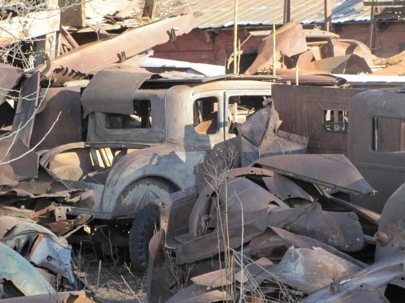 Antique Junk Yards | Cool old junk yard out in Washington State ...