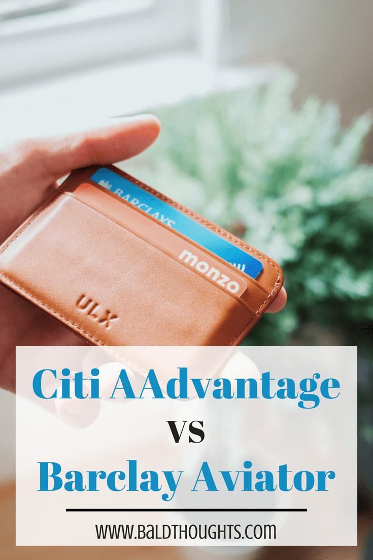 Which Card is Better? Citi AAdvantage vs  Barclays Aviator