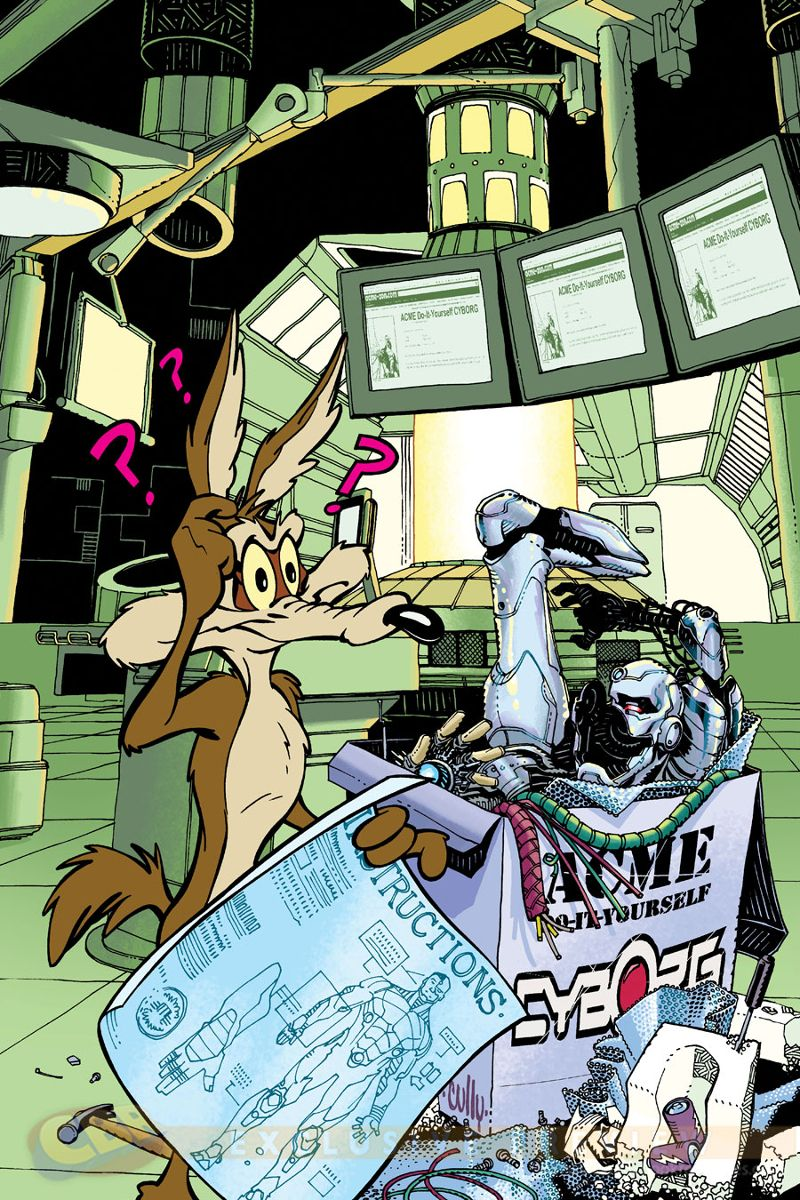 As Leituras do Pedro: Crossover DC Comics/Looney Tunes