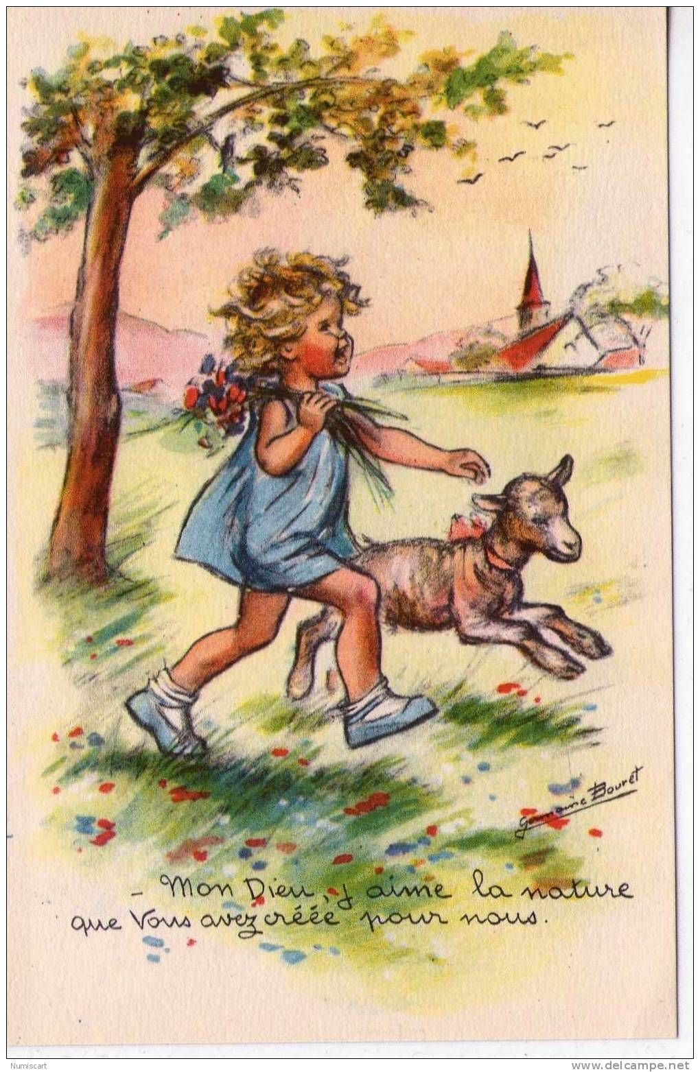 fantaisie enfants - Delcampe.fr | Cartes anciennes, Illustration ancienne, Carte postale